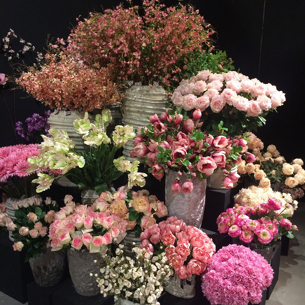 Silk Flowers Sayeh Galton Flowers London